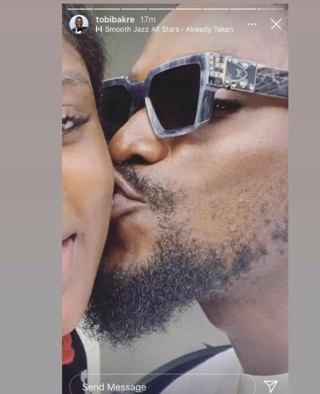 BBNaija's Tobi reveals his girlfriend and love of his life, Anu (photos) 3