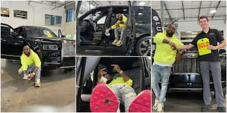 Davido Splashes N240m on Brand New 2021 Rolls Royce, Shares Photos Online 1
