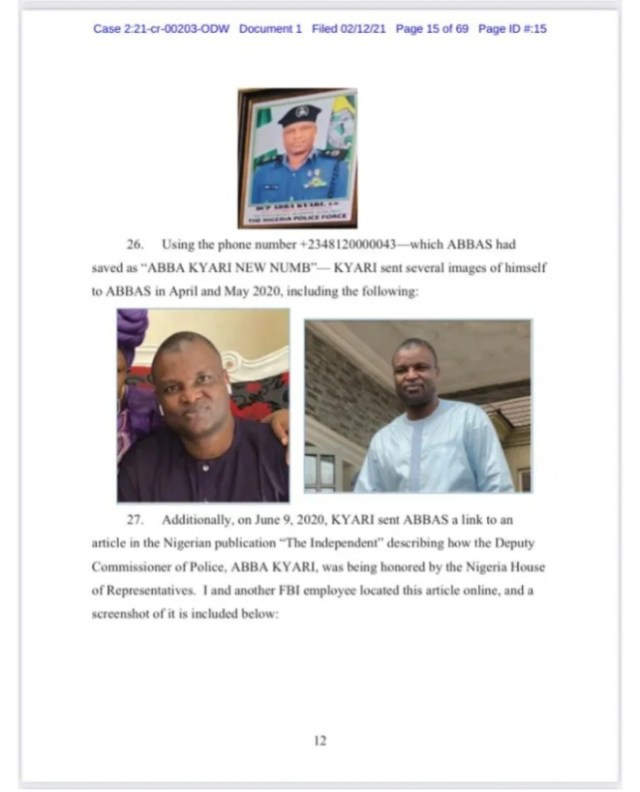 """""""I'm Really Happy To Be Your Boy"""" – FBI Leaks Alleged Chat Between Hushuppi And Abba Kyari (Photos) 4"""