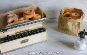 beignets avec cuisson au four
