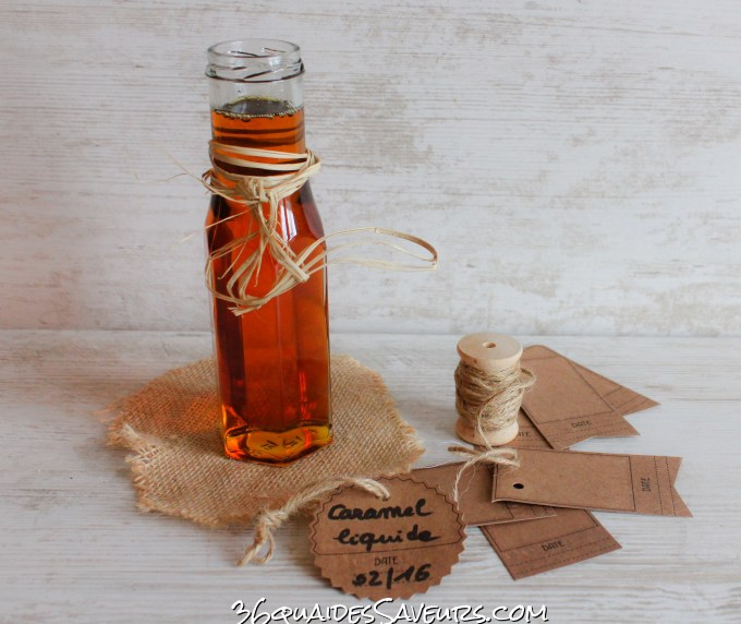 Caramel (nappage) liquide