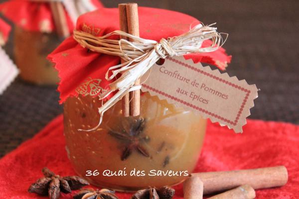 Confiture de pommes aux épices