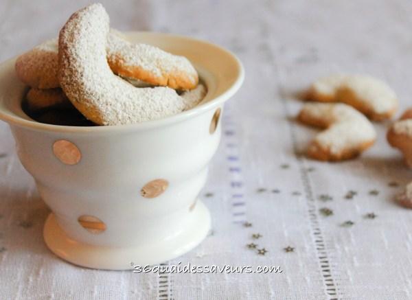 Croissants vanillés (Vanille kipferle)