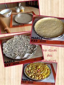 Pâte à tarte sucrée de Christophe Michalak