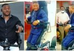 Watch Yinka Ayefele Standing On His Feet (Video)