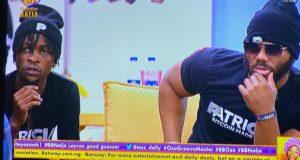 #BBNaija 2020: Laycon Teachs Kiddwaya As They Both Go On A Rap Battle (Watch Video)