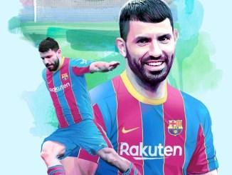 Sergio Kun Aguero Joins Barcelona On Two-year Deal