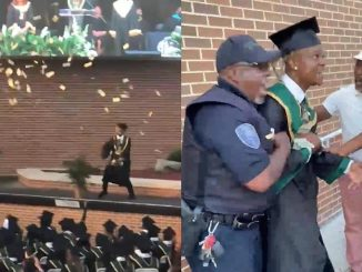 Rapper, Metro Marrs Arrested After Spraying $10,000 Cash At His Own High School Graduation Ceremony