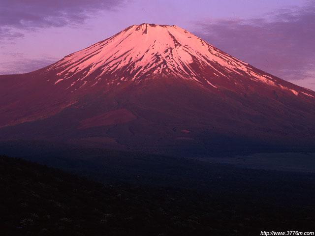初夏の紅富士/パノラマ台
