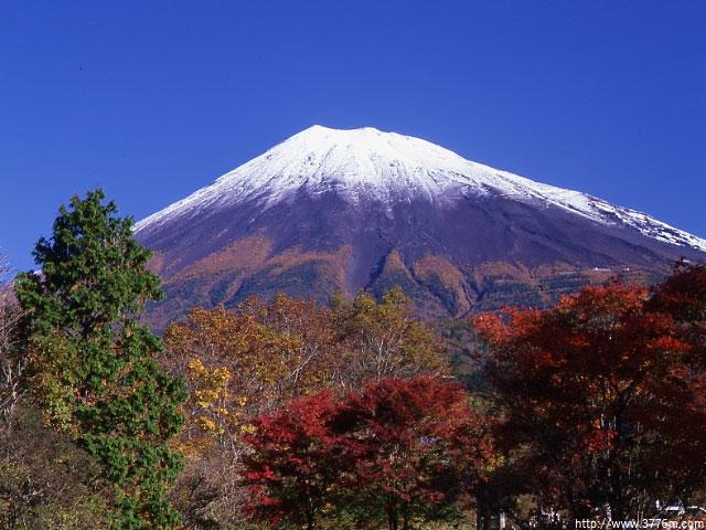 秋色の富士/西臼塚