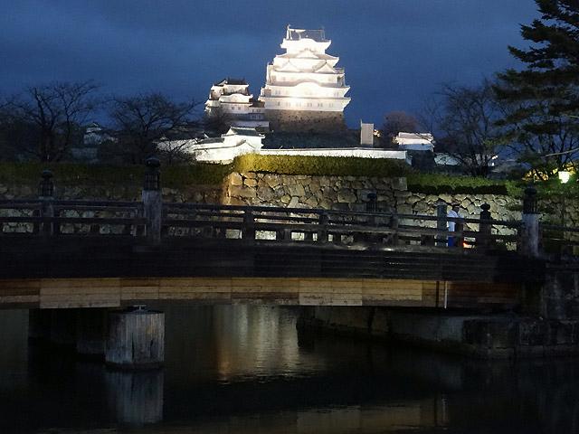 お堀と姫路城/姫路