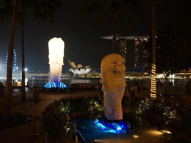 初代マーライオン/シンガポール