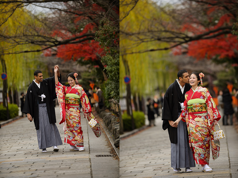kyoto pre-wedding and engagement photography 14