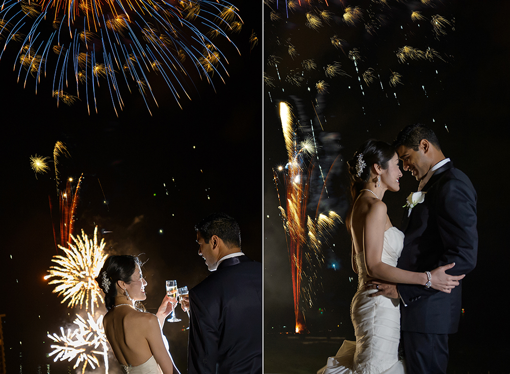 fireworks wedding 1