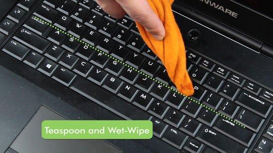 كيفية حل مشكله توقف لوحة المفاتيح الكيبورد في اللاب توب