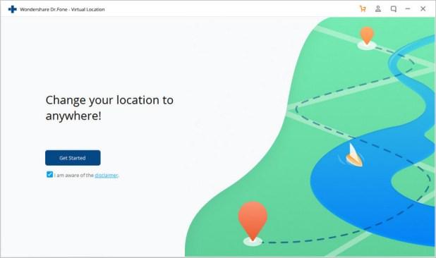 4 طرق لتغيير الموقع الجغرافي للايفون 2