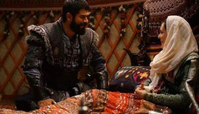 مال خاتون تنجب طفل لعثمان أحداث مسلسل قيامة عثمان الحلقة 63 كاملة