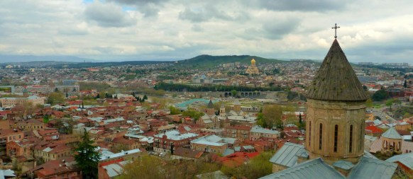 Tbilisi, Georgia, a focus of Harsha Ram's comparative studies.