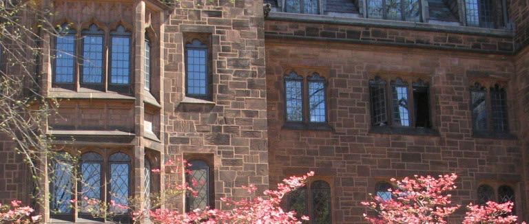 Yale University's Bingham Hall, home to its storied comparative literature department.