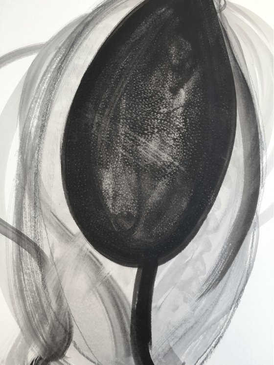 """Untitled"" – graphite and Indian ink on cartridge paper – 59.4cm x 84.1cm"
