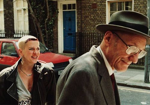 Kathy Acker and William Burroughs