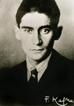 Franz Kafka (1883-1924). Czech writer in German language. Portrait.