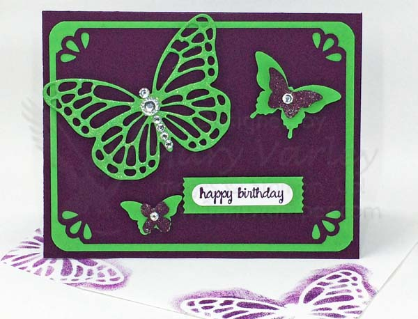 Blackberry Bliss Butterfly Birthday Card - visit http://www.3amstamper.com