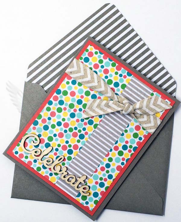 Cherry On Top Celebrate Card with Envelope - Visit http://www.3amstamper.com