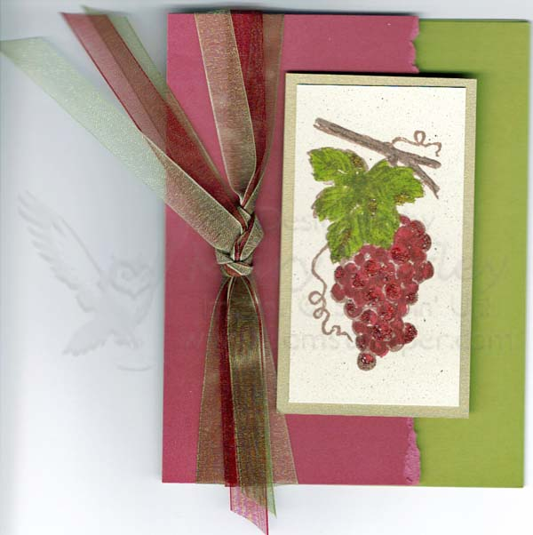 Grapes-Card