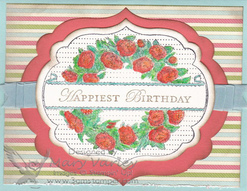 Apothecary Art Birthday Card-visit http://www.3amstamper.com