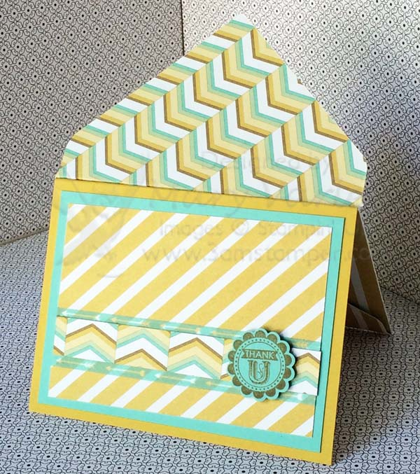 Lullaby Card #11 with Coastal Cabana and Hello Honey-Visit http://www.3amstamper.com