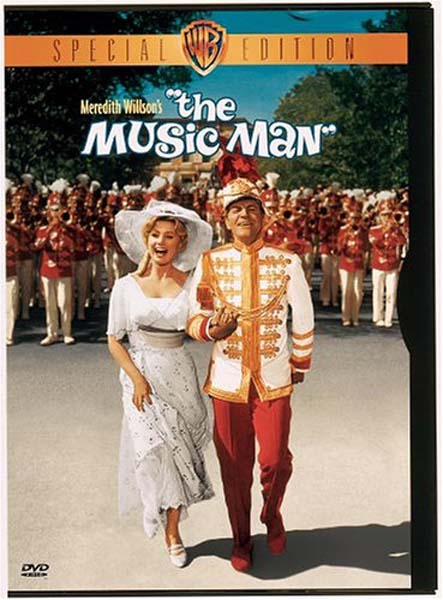 The Music Man DVD Cover