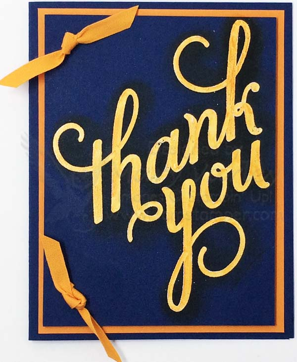 Night of Navy Thank You Card - visit http://www.3amstamper.com