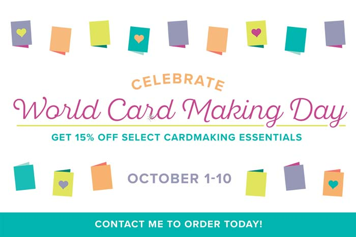 World Card Making Day for 2017 Offer