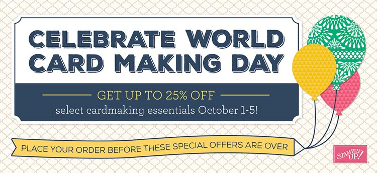 World Cardmaking Day Special Banner