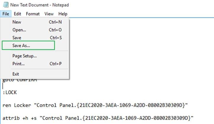 كيفية عمل كلمة سر لمجلد Folder بدون برامج على ويندوز 10
