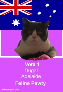 Candidates poster Dugal Adelaide