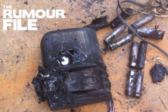 Rumour confirmed: Fake popular tool brand battery explodes and catches fire