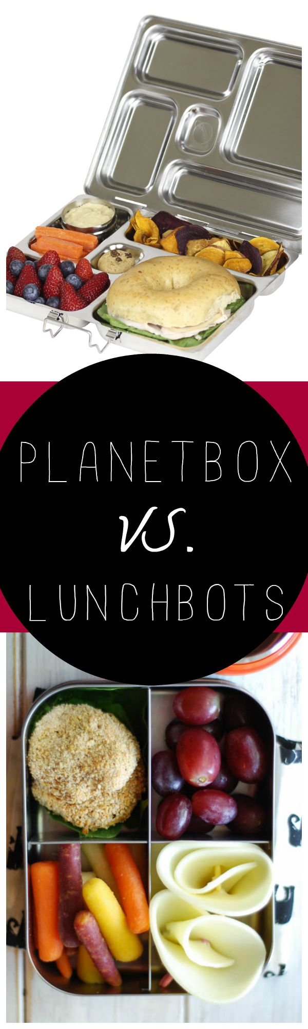 Planetbox Vs. LunchBots Review || www.3boysunprocessed.com