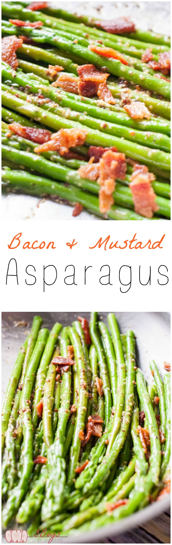 Bacon and Mustard Asparagus - Pretty Little Apron