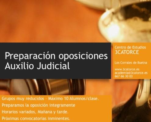 oposiciones auxilio judicial justicia cantabria 3catorce preparador