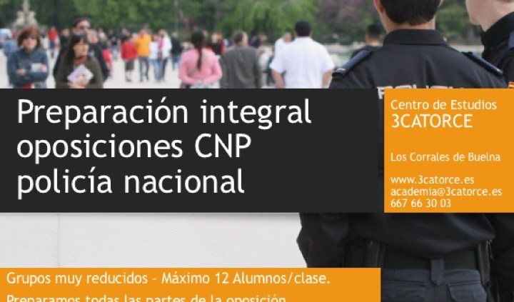 oposiciones cnp policia nacional cantabria 3catorce preparador