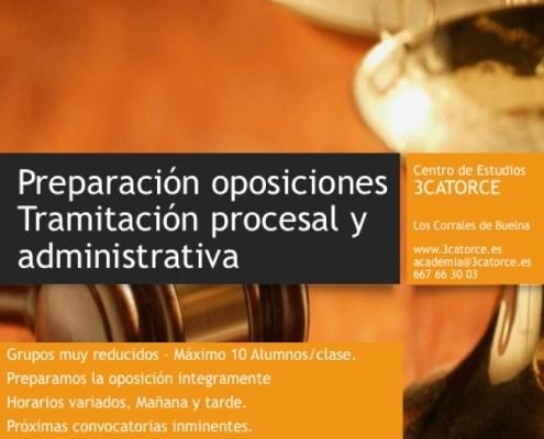 oposiciones tramitacion procesal justicia cantabria 3catorce preparador