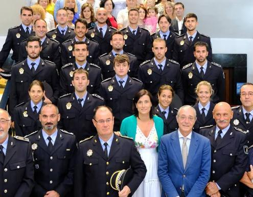 Carla aprueba la Oposicion Policia Local Santander Cantabria academia 3catorce preparadores
