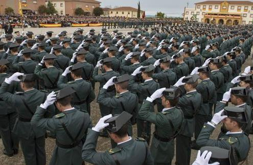 oposiciones guardia civil plantilla 2017-2021 academia 3catorce cantabria preparadores santander