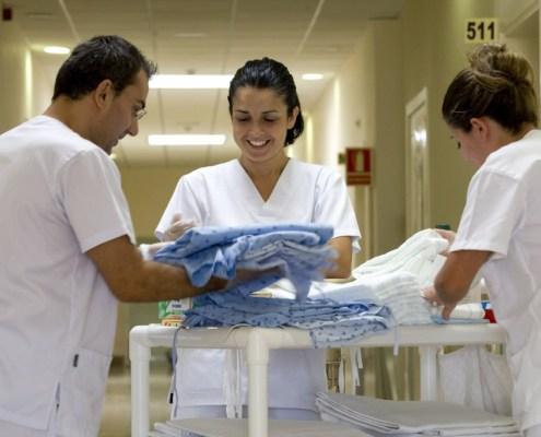 Curso Oposiciones Auxiliar Enfermería 3catorce cantabria academia santander scs