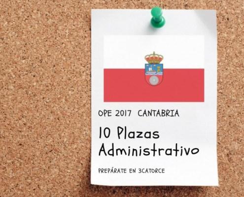 Nuevo curso administrativo Cantabria 2018