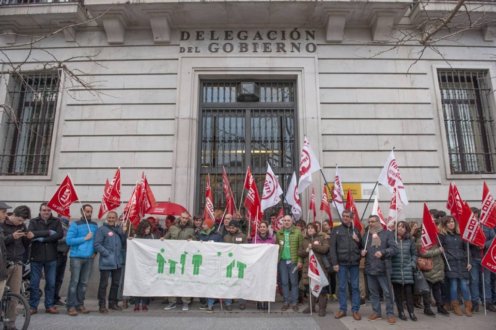Protestas-contra-el-enfoque-de-las-oposiciones-maestros-cantabria- Protestas contra el enfoque de las oposiciones maestros cantabria