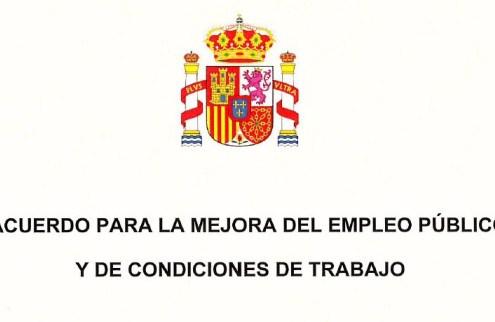 II Acuerdo para la mejora del empleo público y de condiciones de trabajo