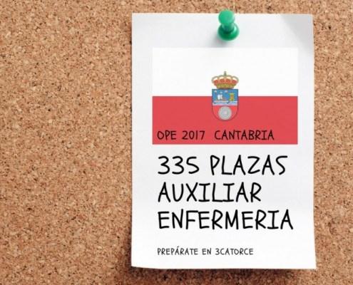 Curso Torrelavega oposiciones auxiliar enfermeria SCS